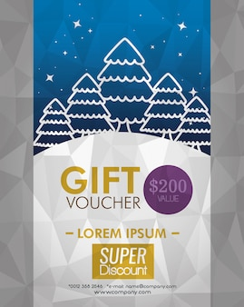 Gift coupon with special price
