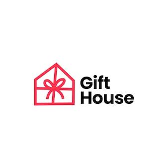 ギフトハウスのロゴのテンプレート