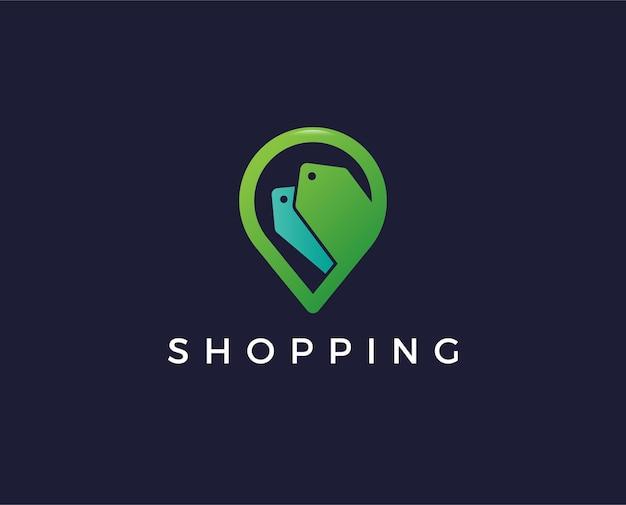 Gift shop logo template