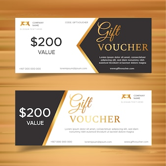 Gift voucher discount template