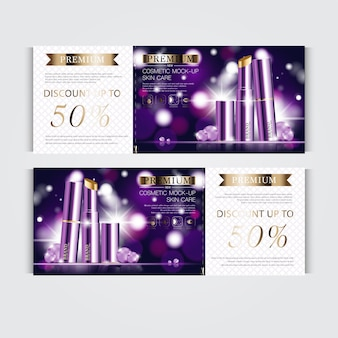 연간 판매 또는 축제 판매 은색 및 금색 립스틱을 위한 상품권 하이드레이팅 페이셜 립스틱