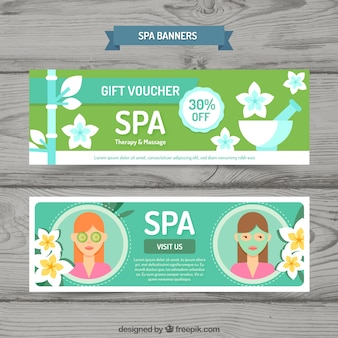 Gift voucher for the spa