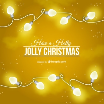 화려한 크리스마스 카드