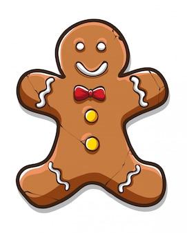 Ginger cake character
