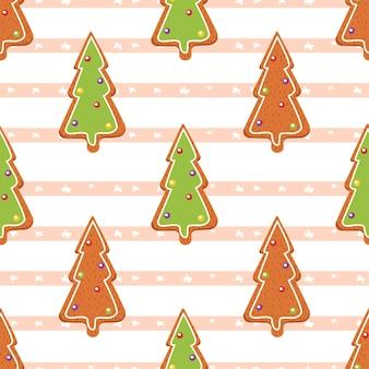 生姜の木。シームレスなパターン。