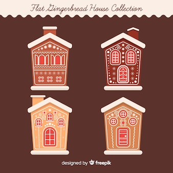 Gingerbread building collection