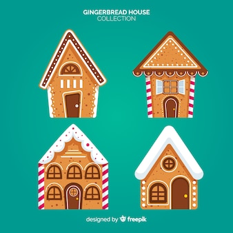 Gingerbread cabin collection