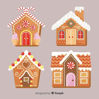 Gingerbread cabin pack