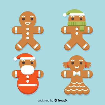 Gingerbread cookies collection