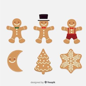 Gingerbread cookies pack