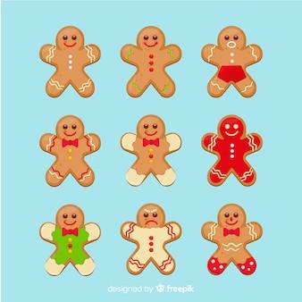 Gingerbread cute cookies