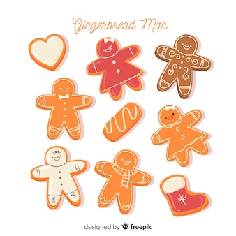 Gingerbread cute cookies