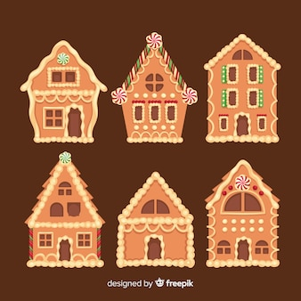 Gingerbread house collection