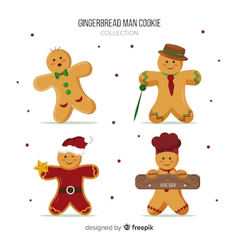 Gingerbread man collection