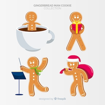 Gingerbread man hobbies collection