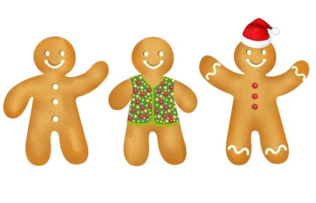 Gingerbread mans set