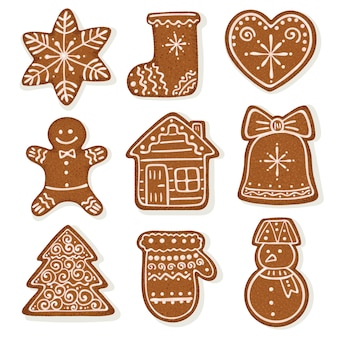 Gingerbread set collection