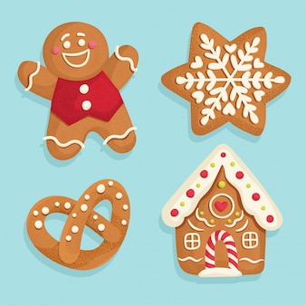 Gingerbread sweet set