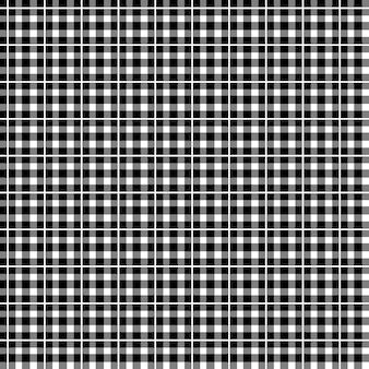 Gingham seamless plaid pattern