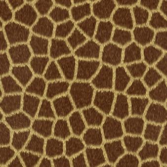 Giraffe struttura dei capelli
