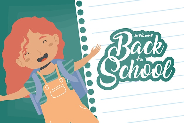 Девушка обратно в школу персонаж