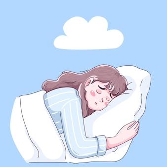 소녀는 나쁜 꿈을 가지고