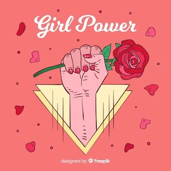 Girl power background