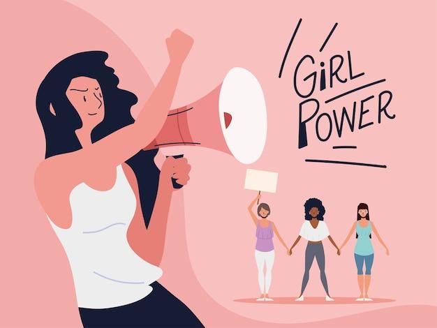소녀 파워, 권한 부여 운동 여성