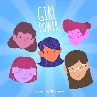 Сила девушки