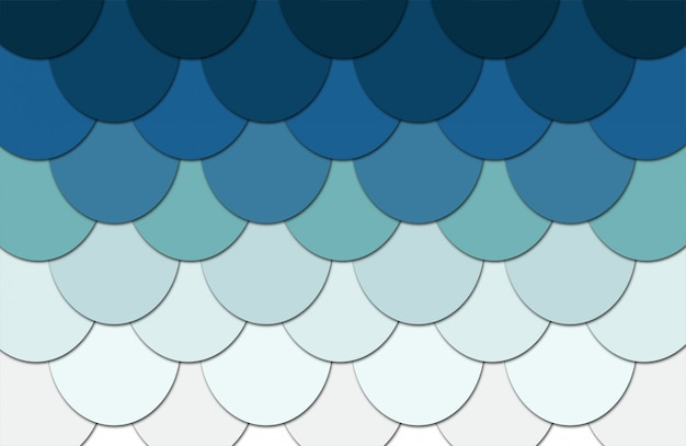 Girlish fish scale background