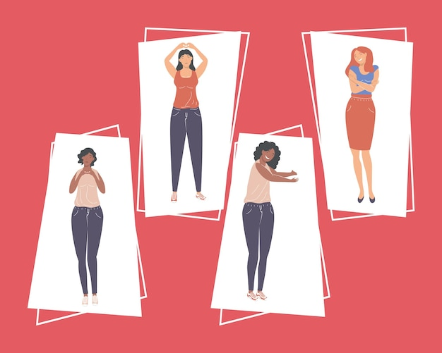 Девушки темы самообслуживания
