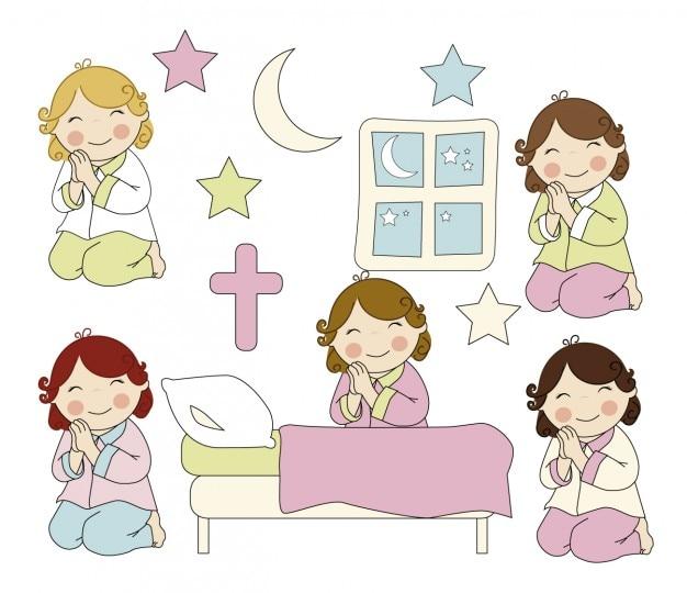 Девушки молятся