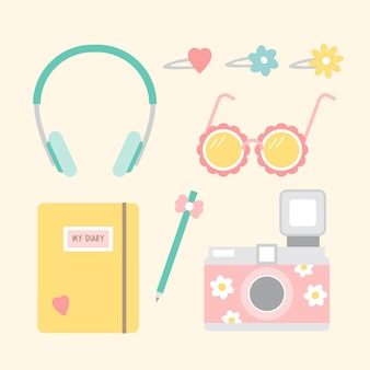 Girly objects