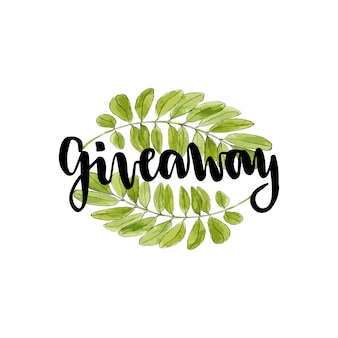 Giveaway icon for social media contests