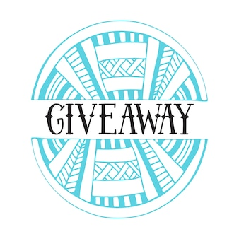 Giveaway vector icon