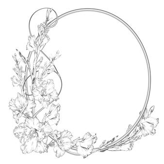 Гладиолус цветок.
