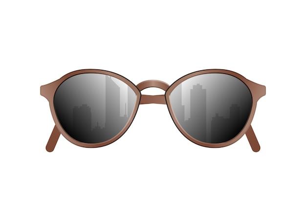 매력적인 선글라스 고립 된 벡터