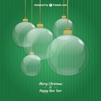 Glass christmas balls