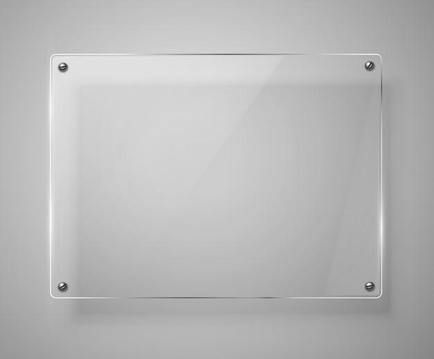 Glass frameworkillustration.