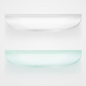 ガラス棚の概念図