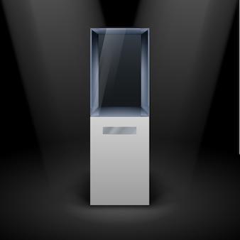 Glass showcase