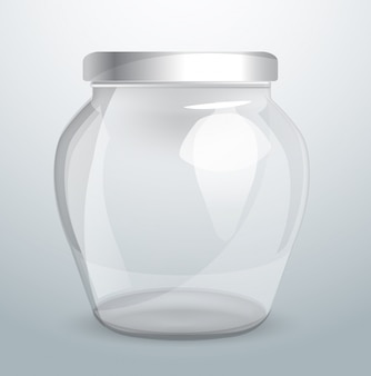 Glassware for dairy products.