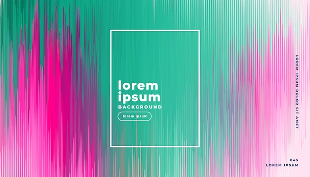Glitch background in abstract lines style