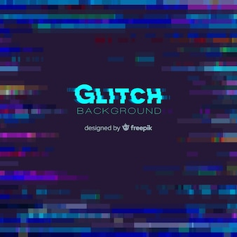 Glitch background