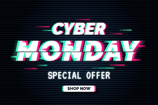 Glitch cyber monday special offer