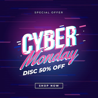 Glitch cyber monday
