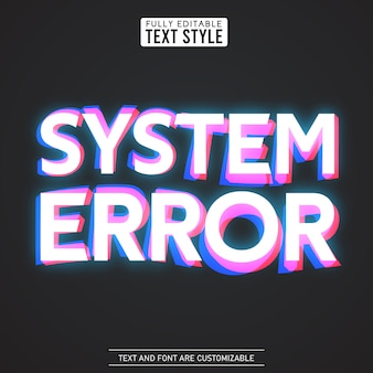 Glitch digital noise system error distortion modern cool effect text font collection typeface alphabet letters, numbers and symbols