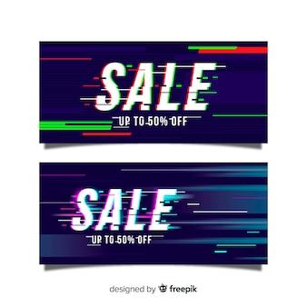 Glitch sale banner