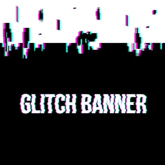 Glitch style distorted background.