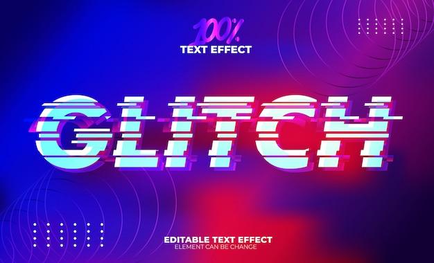 Глюк текстовый эффект
